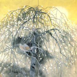 toshio-matsuo-ne-en-1926.-peintre-nihonga-printemps-diffus-1989-1